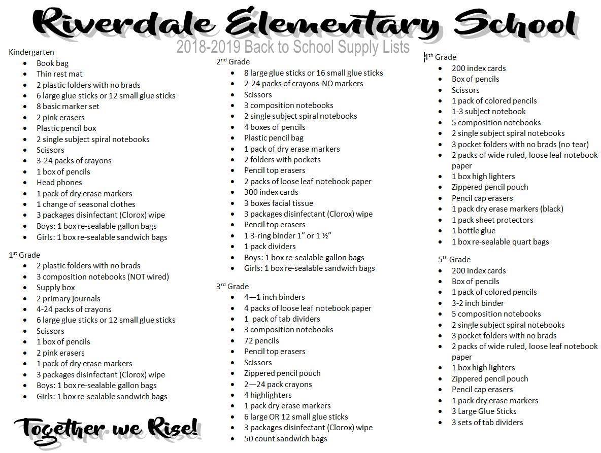 Riverdale Elementary / Homepage